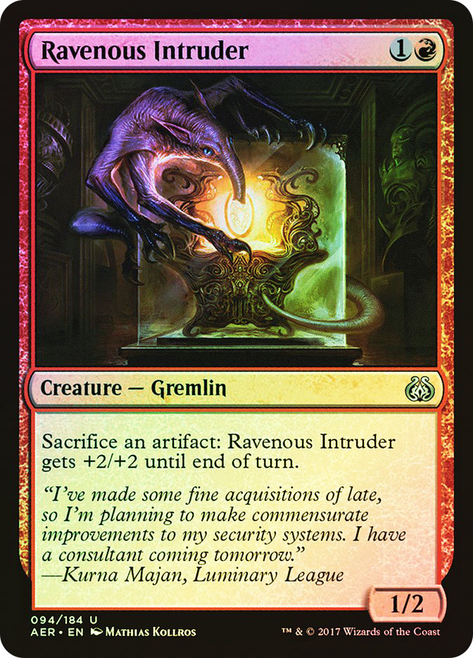 Ravenous Intruder (Pre-Order: Ships Jan 20)
