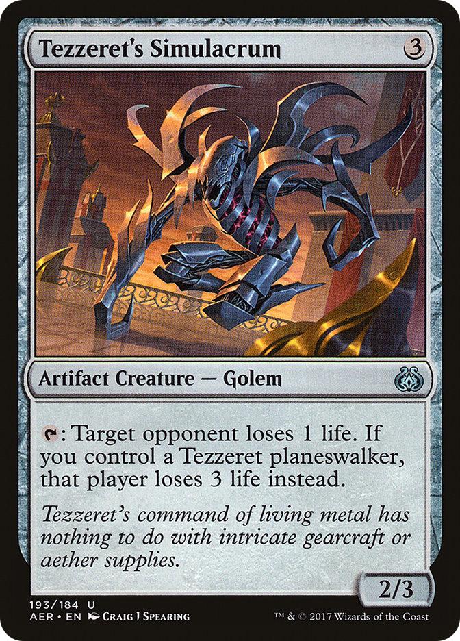 Tezzeret's Simulacrum