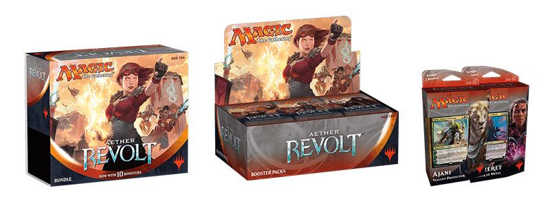 Aether Revolt Combo Pack (Booster Box, Bundle, & Planeswalker Deck - Set of 2)