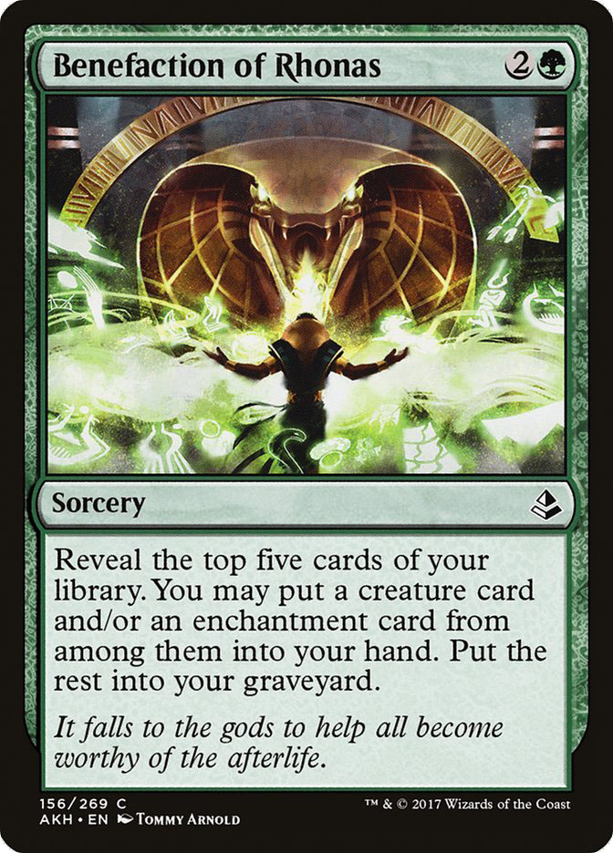 Starcitygames Com Amonkhet Complete Review Green Artifacts And