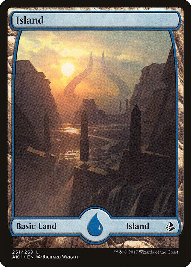 Island (#251) (Full-Art)