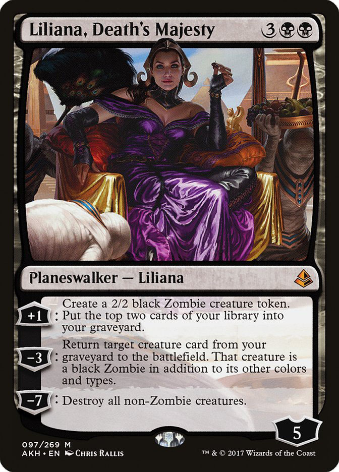 Liliana, Death