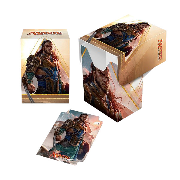Ultra Pro Magic Deck Box - Amonkhet - Gideon of the Trials