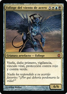 Sphinx of the Steel Wind (Alara Reborn)