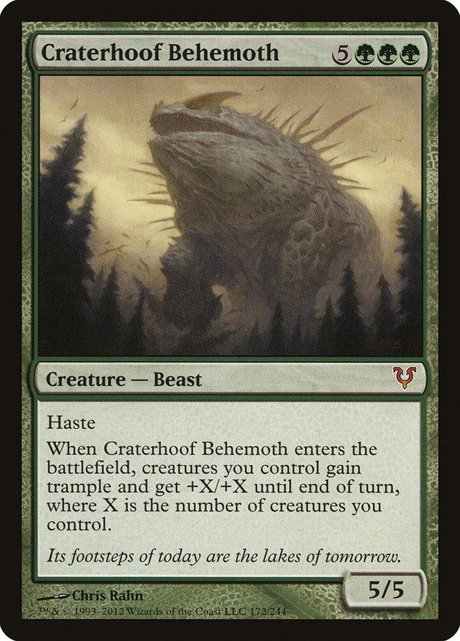 Craterhoof Behemoth