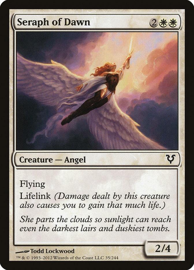 Seraph Of Dawn (Magic card)