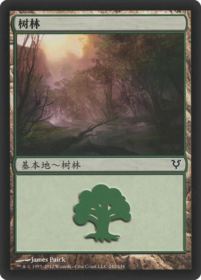 Forest (#242) (Avacyn Restored)