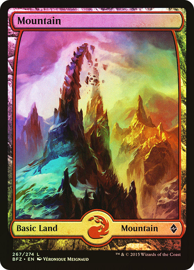 Mountain (#267) (Full-Art)