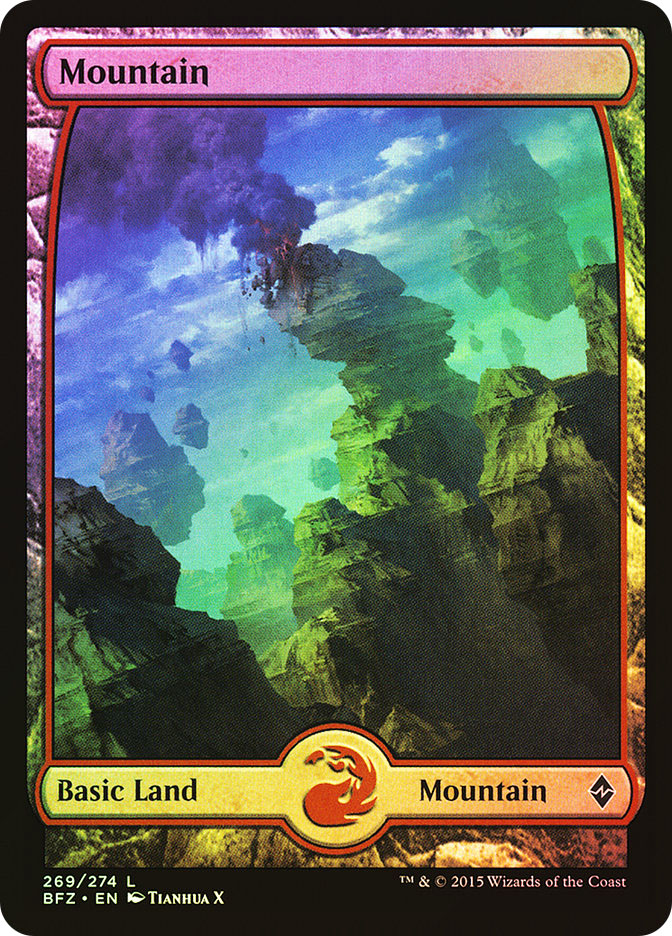 Mountain (#269) (Full-Art)
