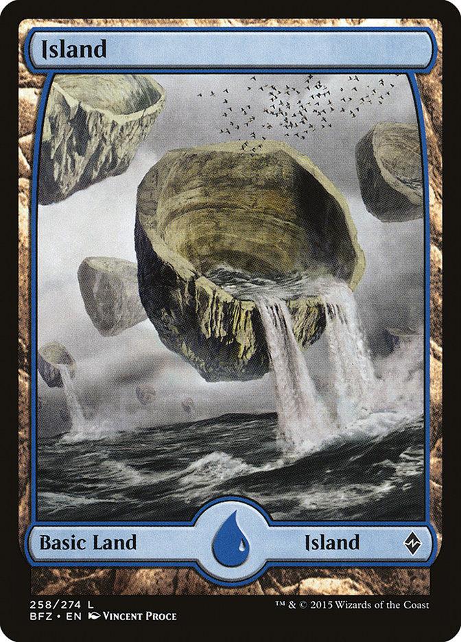 Island (#258) (Full-Art)