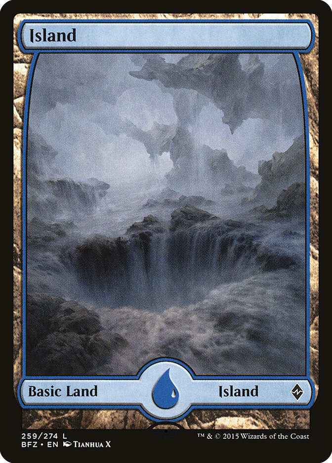 Island (#259) (Full-Art)