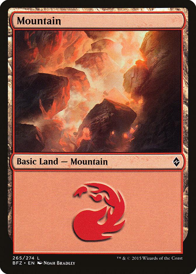 Mountain (#265) (Regular Art)