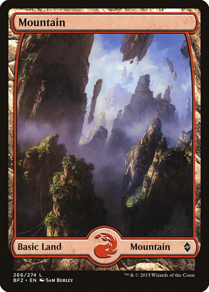 Mountain (#266) (Full-Art)