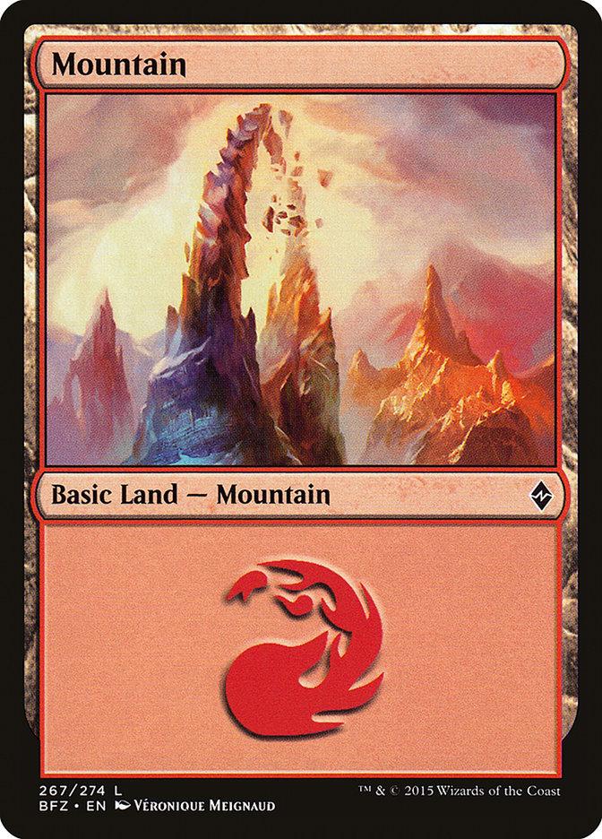 Mountain (#267) (Regular Art)
