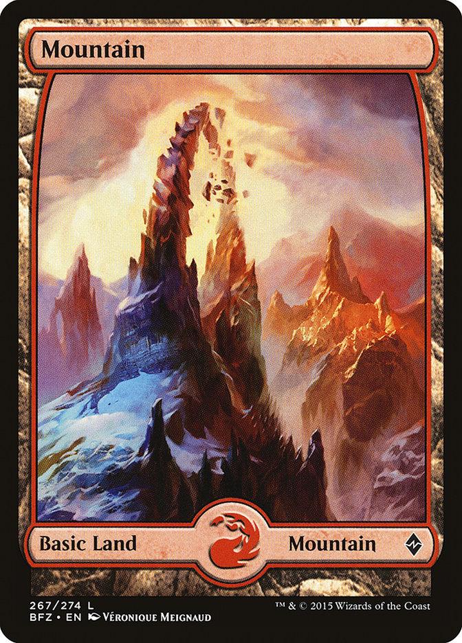 Mountain (#267) (Full-Art)