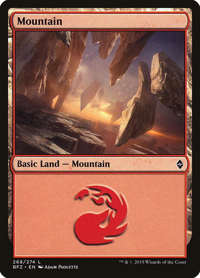 Mountain (#268) (Regular Art)