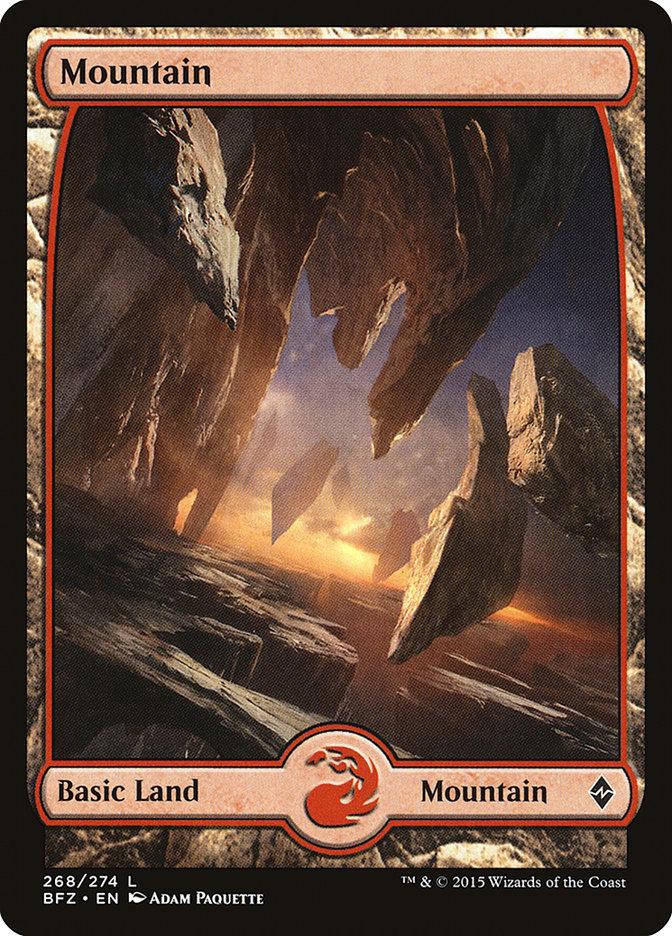 Mountain (#268) (Full-Art)