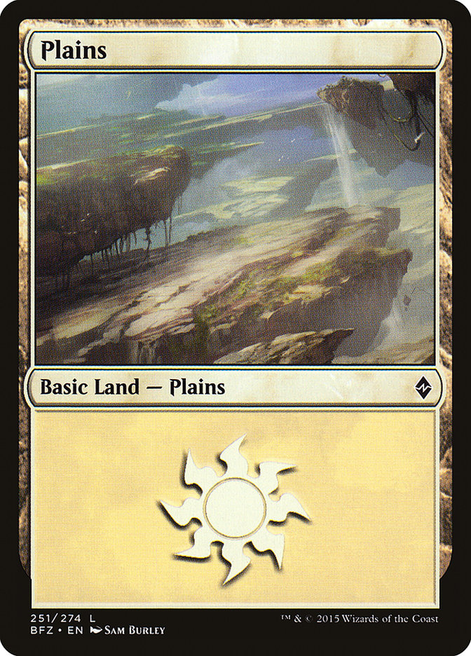 Plains (#251) (Regular Art)
