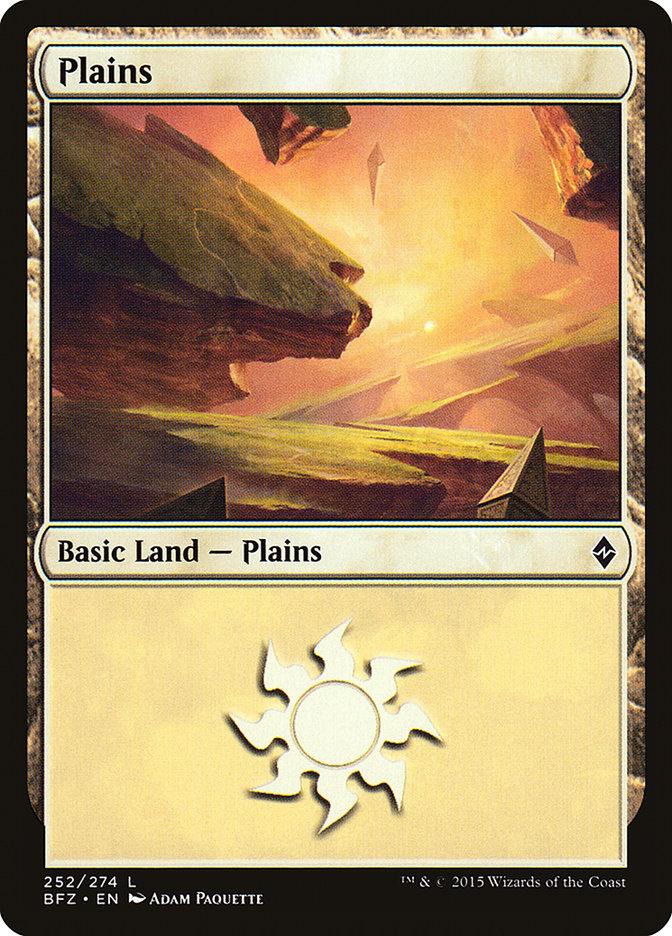 Plains (#252) (Regular Art)