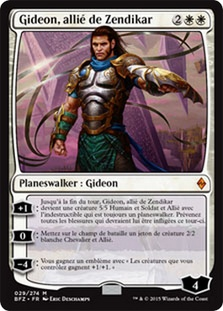 Gideon, Ally of Zendikar (Battle for Zendikar)