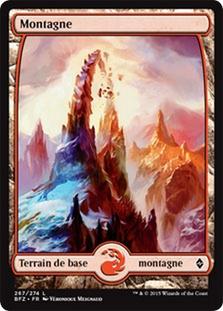 Mountain (#267) (Full-Art) (Battle for Zendikar)