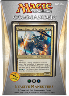 Commander 2013 Deck - Evasive Maneuvers (Green/White/Blue)