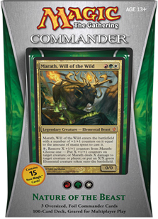 Commander 2013 Deck - Nature of the Beast