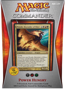Commander 2013 Deck - Power Hungry