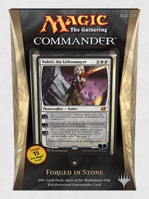 Commander 2014 Deck - Forged in Stone
