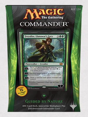 Commander 2014 Deck - Guided by Nature