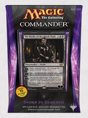 Commander 2014 Deck - Sworn to Darkness