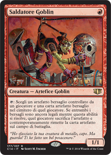 Goblin Welder (Commander 2014)