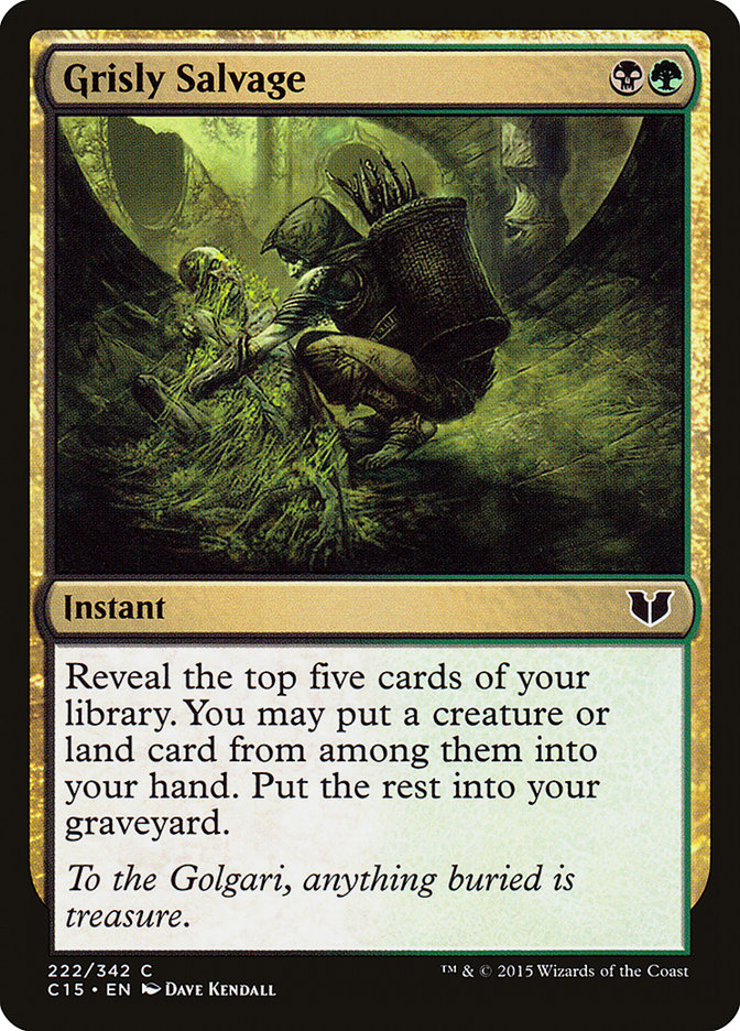 Grisly Salvage