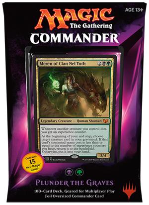 Commander 2015 Deck - Plunder the Graves