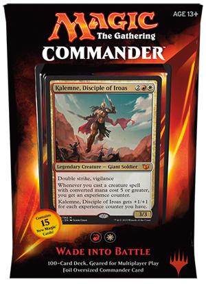 Commander 2015 Deck - Wade into Battle