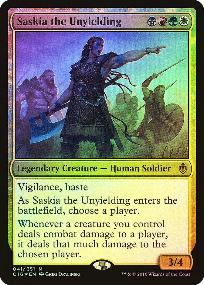 Saskia the Unyielding (2016) (Oversized)