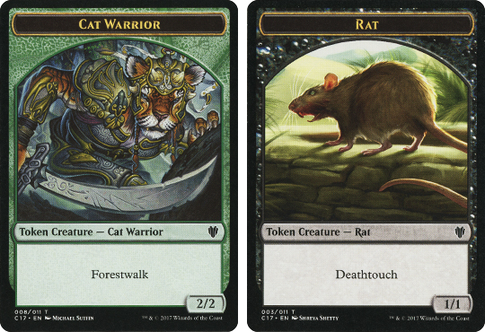 Cat Warrior Token] | [Rat Token] at StarCityGames com!
