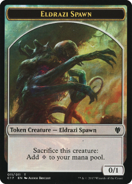 Eldrazi Spawn Token
