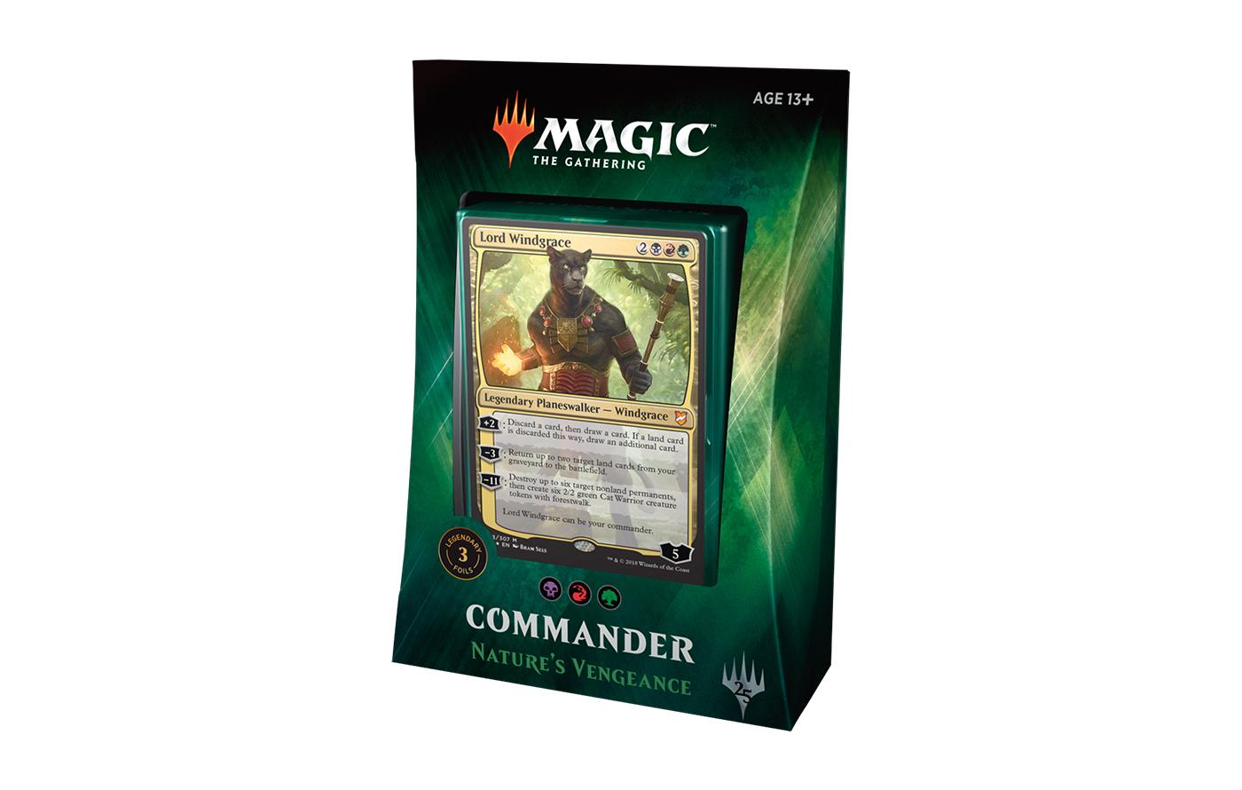Commander 2018 Deck - Nature
