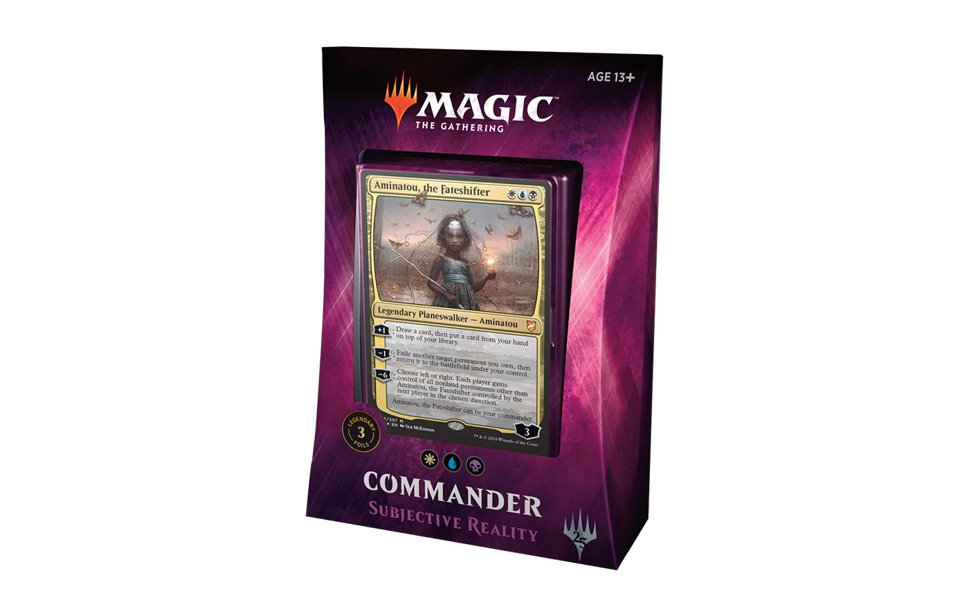 Commander 2018 Deck - Subjective Reality