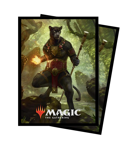 Ultra Pro Magic Matte Sleeves - Commander 2018 - Lord Windgrace