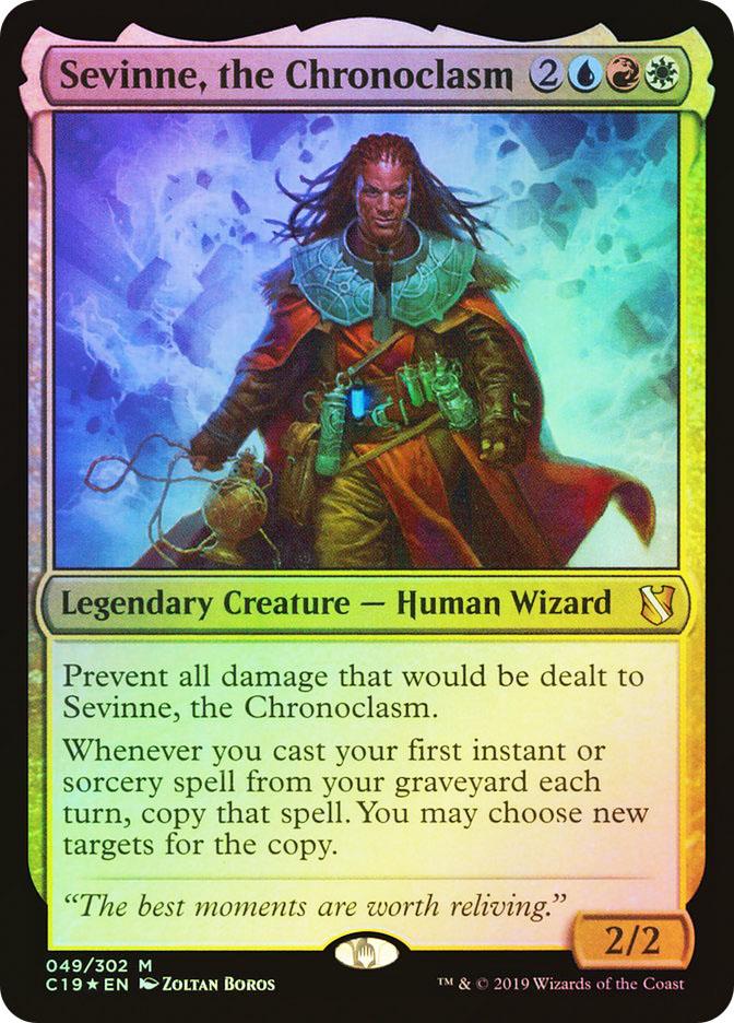 Sevinne, the Chronoclasm