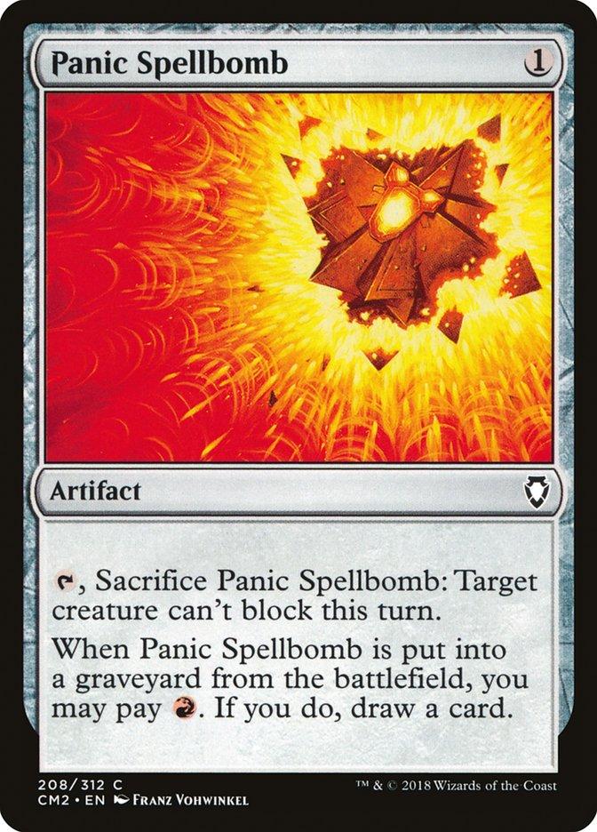 Panic Spellbomb
