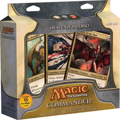 Commander 2011 Deck - Heavenly Inferno