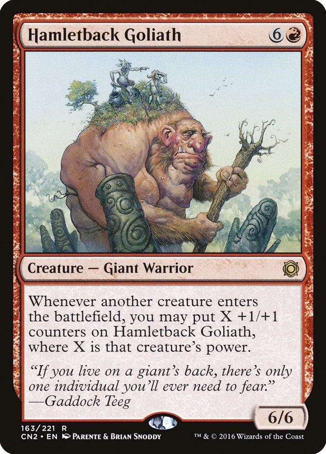 Hamletback Goliath