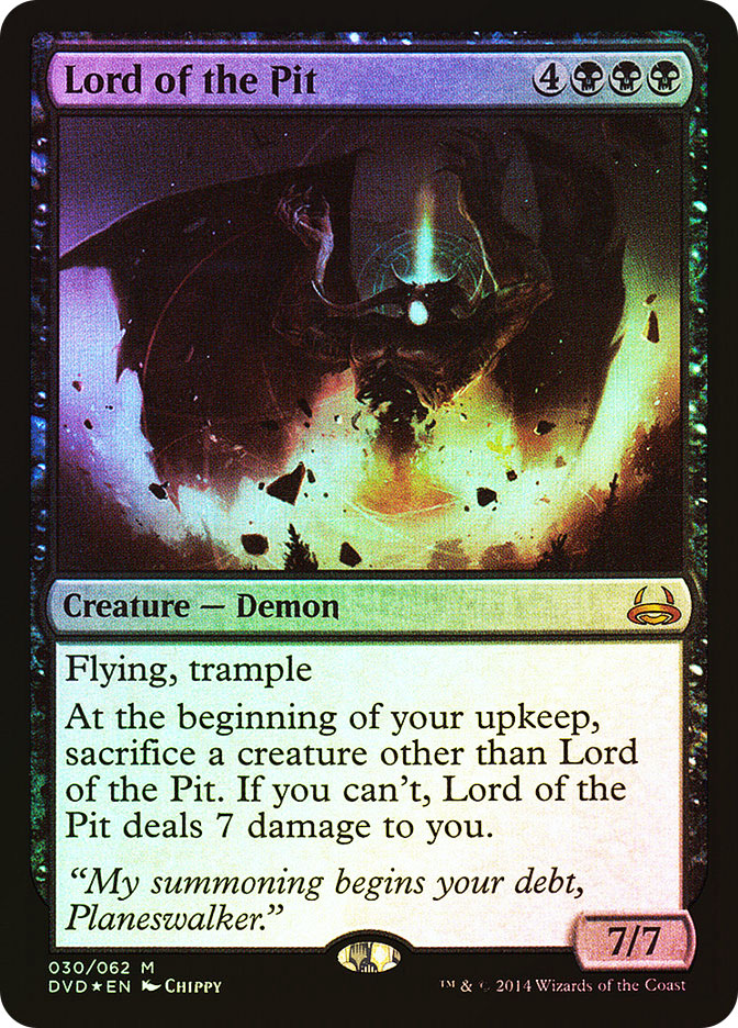 Lord of the Pit (FOIL)