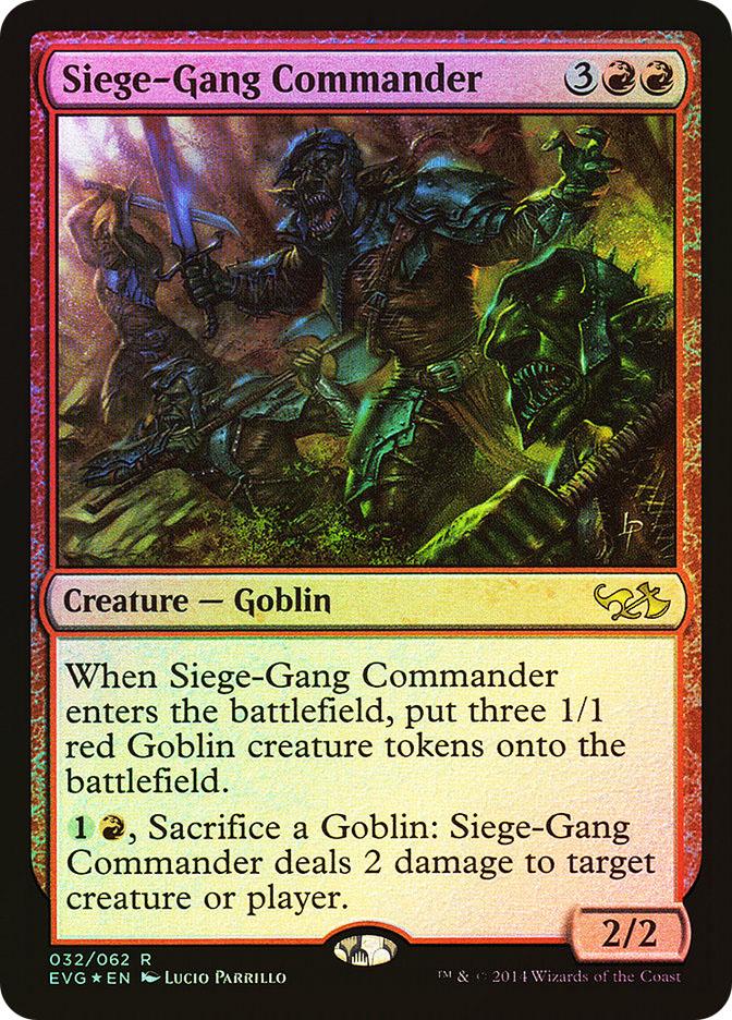 Siege-Gang Commander (FOIL)