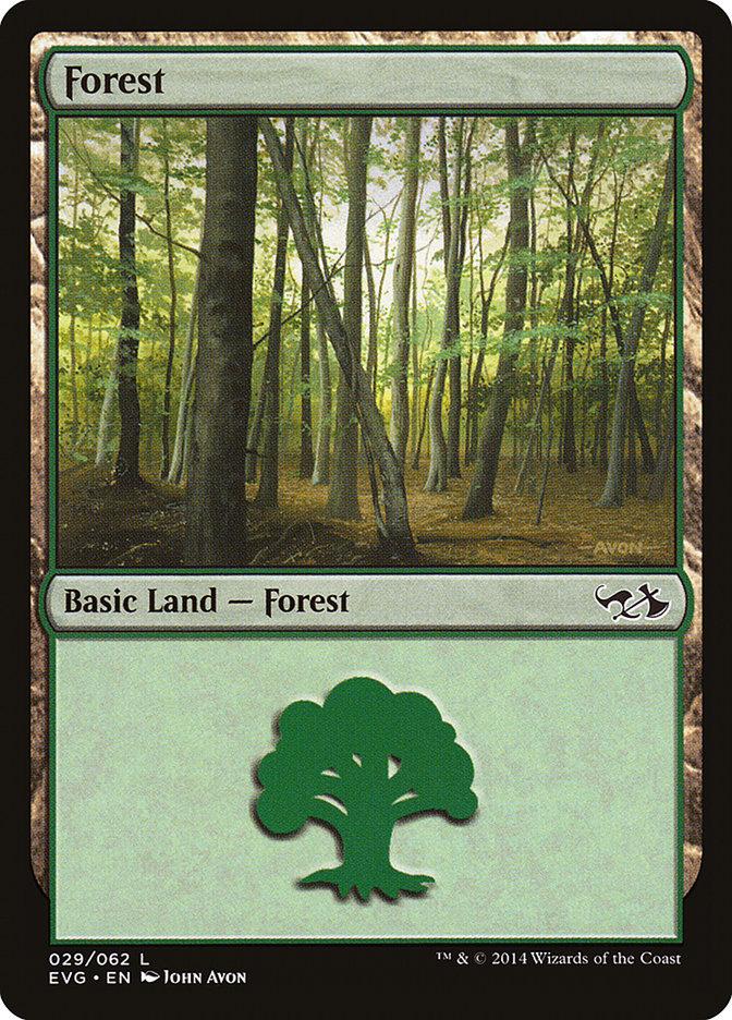 Forest (#29) (Elves vs. Goblins)