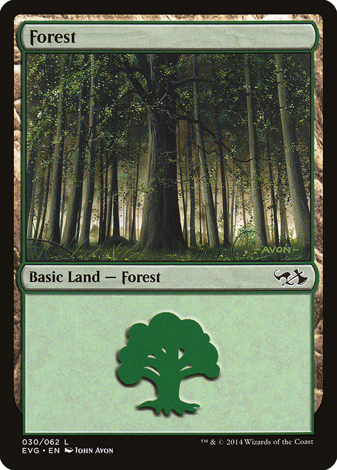 Forest (#30) (Elves vs. Goblins)