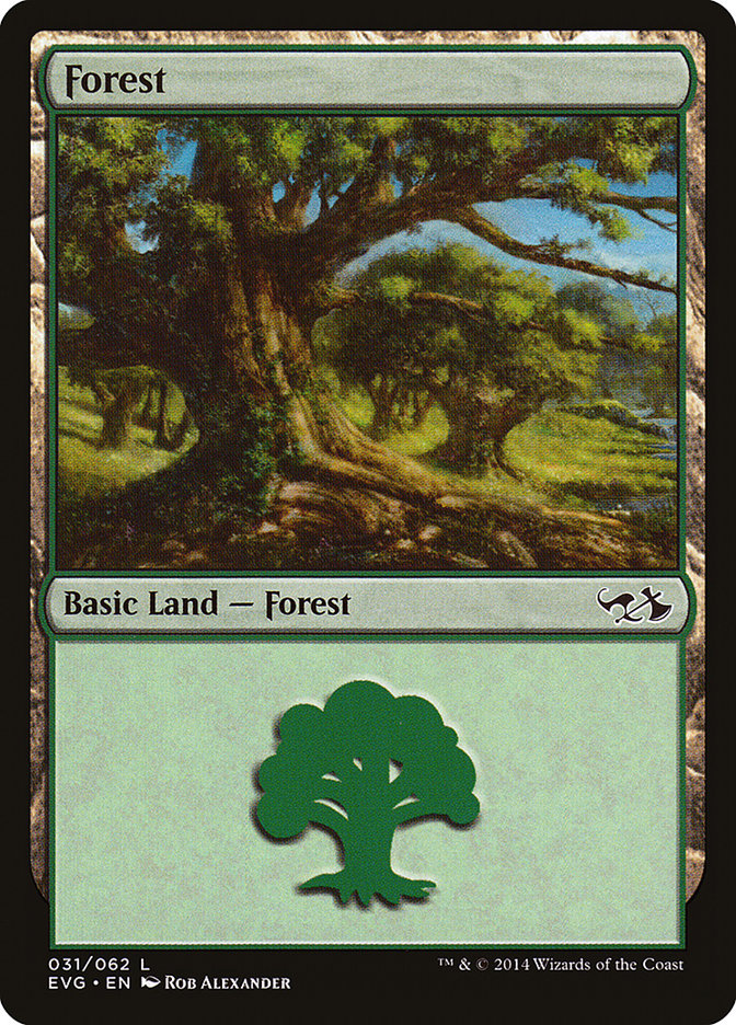 Forest (#31) (Elves vs. Goblins)